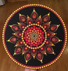 Got Dots? Mandala Painted Rocks, Mandala Rocks, Mandala Drawing, Mandala Painting, Vinyl Record Art, Vinyl Art, Dot Art Painting, Painting Patterns, Mandala Pattern