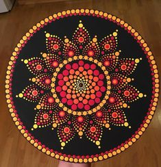Got Dots? Dot Art Painting, Painting Patterns, Stone Painting, Mandala Painted Rocks, Mandala Rocks, Mandala Drawing, Mandala Painting, Mandala Pattern, Mandala Design