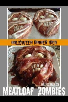 Zombie Meatloaf - perfect for a Walking Dead party