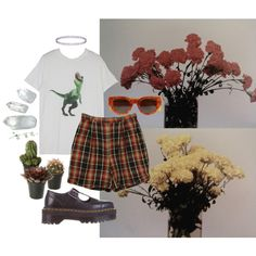 Salad Days - Mac Demarco by hippierose on Polyvore featuring Izod, Wolford, Dr. Martens, Topshop and CÉLINE