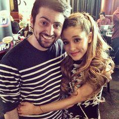 Mitch and Ariana ;)