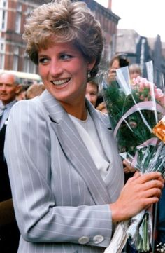 On May 19, 1993: Princess Diana carried out a busy day of public engagements in West Yorkshire, visiting Leeds and Wakefield.
