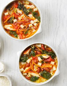 Chicken and Chard Pasta Fagioli