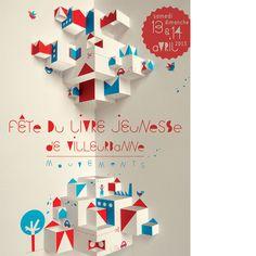 Exposition Louis Rigaud, créée à l'occasion de La fête du livre jeunesse de Villeurbanne 2013 (maquettes, originaux et pop-up grand format spécialement conçus pour l'exposition — un popville de 2 mètres sur 3 et une forêt du paresseux à taille d'enfant avec plein d'animaux cachès—.