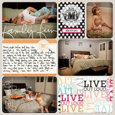 Lindsay Teague Moreno: Project Life: a couple more layouts