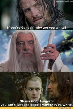 Haha Lord of the Rings meets Mean Girls