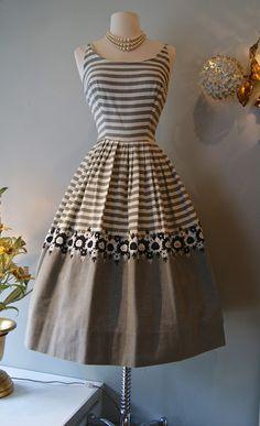 Classic 50's striped sundress by Saba Jrs