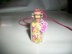 collier fiole gourmand candy bonbon kawaii de ▲ Baïmy ▲ sur DaWanda.com