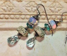 by Sheri Mallery, Handmade Bohemian Earrings Urban Chic by SheriMalleryHandwork