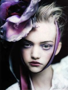 Gemma Ward. My favorite model, and one of my favorite shots of her.