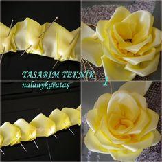 ru / Photo # 2 - БеР· РЅР ° Р · РІР ° РЅРёСџ - niki .ru / Photo # 2 – БеР· РЅР ° Р · РІР ° РЅРёСџ – nikita-ludmila - Satin Ribbon Roses, Ribbon Art, Fabric Ribbon, Ribbon Crafts, Flower Crafts, Ribbon Flower Tutorial, Ribbon Embroidery Tutorial, Silk Ribbon Embroidery, Bow Tutorial