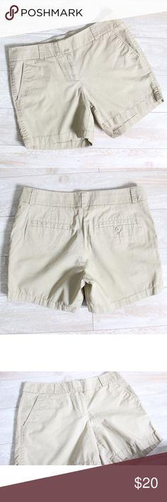 J Crew Chino Shorts⭐️ J Crew Chino Shorts, EUC, looks new, measurements laying flat  waist 16' rise 9 inseam 5', super comfy material ⭐️ J. Crew Shorts