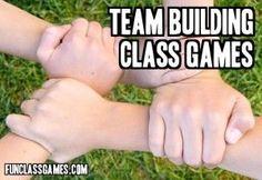 Team building class games