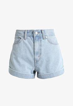 A LINE - Jeans Shorts - not kidding @ Zalando. Mens White Denim Shorts, Denim Shorts Outfit, Black Jean Shorts, Jeans Dress, Blue Jeans, Casual Shorts, Jeans For Short Women, Pants For Women, Short Jeans