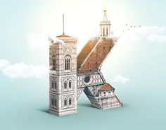 """Vedi il mio progetto @Behance: """"KERNED DOME LOGO"""" https://www.behance.net/gallery/57128331/KERNED-DOME-LOGO   #lettering #typs #graphic #photo #manipulation #florence #fineart"""