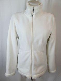 Athleta White Jacket Coat Faux Fur Lining Size S #Athlete #BasicJacket #All