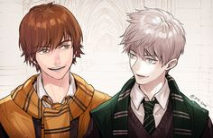 Jack and Hiccup. I think Hiccup should be in Ravenclaw.