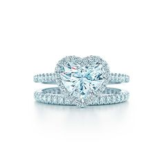 Tiffany Soleste® Heart Engagement Rings | Tiffany & Co.