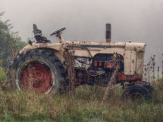 Tractor Photograph Country Decor Abandoned by AmericanaArtByEllis, $25.00