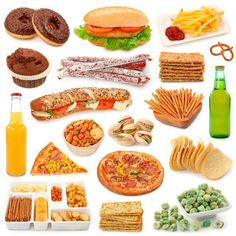 bigstock-Junk-food-collection-isolated-54001291
