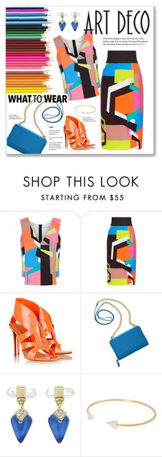 """""""Vibrant!!!!"""" by sheryl-lee on Polyvore featuring Milly, Nicholas Kirkwood, TravelSmith, Alexis Bittar and Vanessa Mooney"""