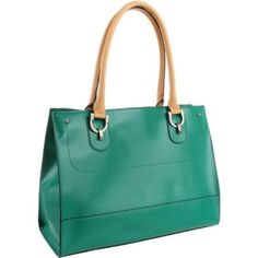 London Fog Harris Structured Tote with Removable Wristlet.  List Price: $135.00 - $137.00