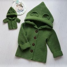 Wool cardigan for girl Knitted soft jacket Green sweater for baby Girl sweater hoodie Merino coat kids Crochet cardigan baby Valentine Day Adorable super soft and warm baby wool sweater with hood. Crochet Jacket, Crochet Cardigan, Wool Cardigan, Sweater Coats, Hooded Cardigan, Crochet Hoodie, Crochet Pillow, Baby Girl Crochet, Crochet For Kids