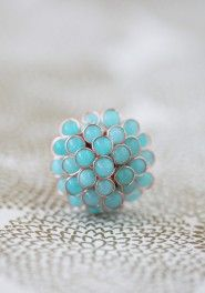 jmm.. turquoise! - berry daydreams ring