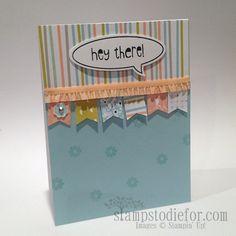 Banner Blast Stamp Set & Sweet Sorbet Designer Series Paper - Sale-a-brationi 2014 Exclusive Products.  www.stampstodiefor.com
