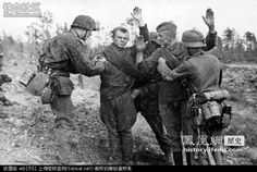 Prisoners. ... WW2.Red Army soldiers are captured