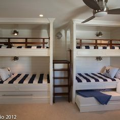 Bunk Beds Design Ideas, Pictures, Remodel, and Decor - page 3