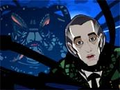 """BBC's 2003 animated Doctor Who web series, """"Scream of the Shalka,"""" features Richard E. Grant (""""The Great Intelligence"""") as the voice of the Doctor.  The series coincided with Doctor Who's 40th anniversary and was intended to be an official continuation, but the television revival two years later superseded it in canon. You can watch """"Scream of the Shalka"""" at this link."""