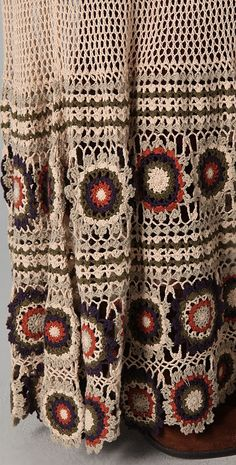 Outstanding Crochet: Free People. Crochet Maxi Skirt.