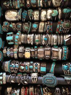 Turquoise Flea Market Jewelry