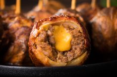 Preheat your grill for a two zone cooking – having hot coals… Beef Recipes, Snack Recipes, Smoker Recipes, Traeger Recipes, Meatball Recipes, Vegetable Recipes, Appetizer Recipes, Healthy Recipes, Buffalo Sauce Ingredients