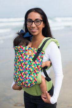 Canvas - Tula Exclusive Release 'Delish' TULA BABY CARRIER