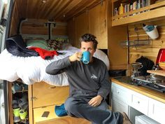 An interview with Van Ventures about living & cooking on the road in their Sprinter camper van