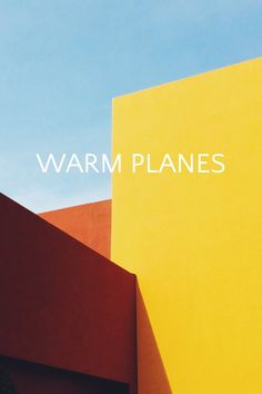 """""""warm planes"""" photo story by Jonathan Lo / happymundane Colour Architecture, Architecture Posters, Plane Photography, Plane Photos, Banner Stands, Stationary Design, Vsco Grid, Photo Story, Geometric Shapes"""