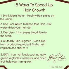 For African American hair dont wash with cool water because it closes the hair follicle instead wash with warm water which opens it which allows the nutrients from the shampoo and conditioner to get down in there