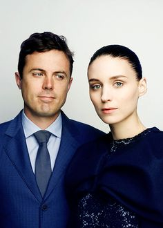 Rooney and Casey Affleck by Nicolas Guérin  I am blown away by the way he is looking at her.