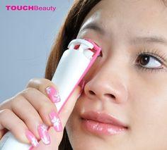 double heating eyelash curler smart silicon sensor 2 heating parts portable smooth body eyelash curler
