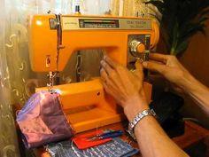 Watch Sewing machine Ideal Topstar 796 test on TubeStream TV