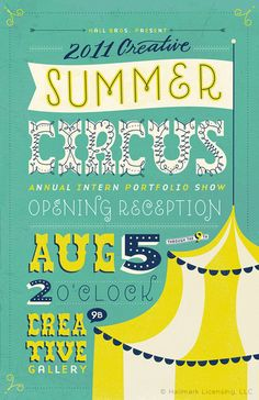 Summer Circus Poster