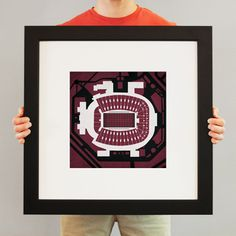 Doak S. Campbell Stadium | City Prints Map Art