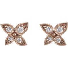 Stone Diamond & Pink Gold Button Stud Earrings at Barneys.com Stud Finder, Pink And Gold, Studs, Brooch, Stud Earrings, Buttons, Diamond, Jewelry, Jewlery