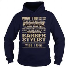 Awesome Tee For Barber Stylist - #zip up hoodies #tee test. ORDER NOW => https://www.sunfrog.com/LifeStyle/Awesome-Tee-For-Barber-Stylist-91746661-Navy-Blue-Hoodie.html?60505