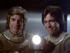 Lt. Starbuck (Dirk Benedict) & Capt. Apollo (Richard Hatch) - Battlestar Galactica (1978-79)