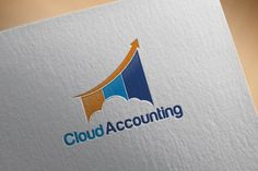 Cloud Accounting Logo by REDVY on Creative Market