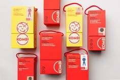 Kombi is a brand with over 50 years of heritage in the winter accessories industry. #packaging PD
