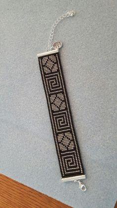 off loom beading stitches Loom Bracelet Patterns, Bead Loom Bracelets, Bead Loom Patterns, Beaded Jewelry Patterns, Beading Patterns, Seed Bead Jewelry, Bead Jewellery, Bracelet Making, Jewelry Making